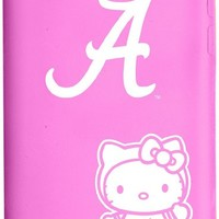 Tribeca Gear FVA7040 Tribeca Gear iPod Touch 4th Generation Silicone Case, Hello Kitty, University of Alabama, Pink - 1 Pack - Carrying Case - Retail Packaging - Pink