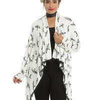 Miss Peregrine's Home For Peculiar Children Bird Lace Flyaway Cardigan Plus Size