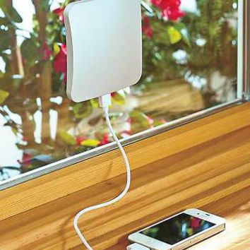 Portable Window Solar Power Charger - Recharge Tablets  iPhones Smartphones