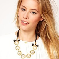 Minnie Mawi By Disney Couture Minnie Necklace at asos.com