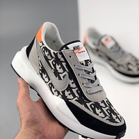 Dior x Nike Daybreak sports and leisure running shoes