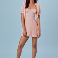 Dixie Ruffled Mini Dress – For Love & Lemons