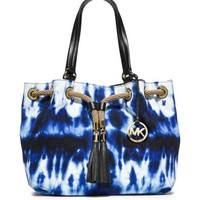 Marina Large Tie-Dye Canvas Tote | Michael Kors
