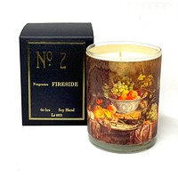 Wood Candle No. 2 Fireside