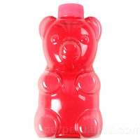 RED BOOZIE BEAR FLASK