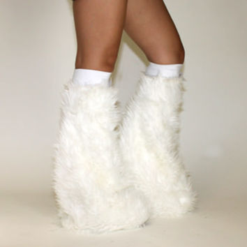 White Soft Fur Fluffies