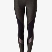 Color Block Mesh Inset EXP Core Legging from EXPRESS