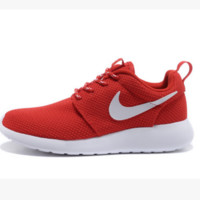 NIKE Women Men Running Sport Casual Shoes Sneakers Red