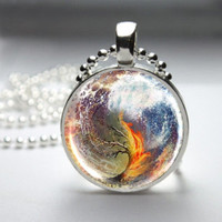 Divergent Inspired Combined Art Necklace