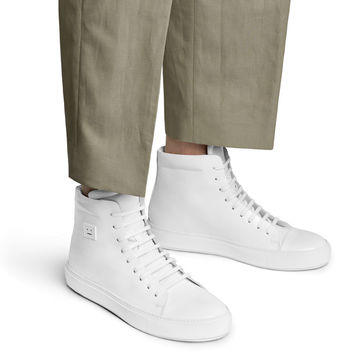 Acne Studios - Adrian high f white from
