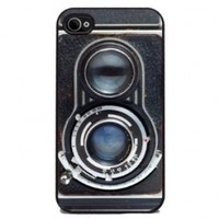 Vintage Twin Reflex Camera - iPhone 4 or 4s Cover