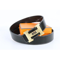 Hermes belt men's and women's casual casual style H letter fashion belt563