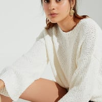 UO Callie Yarn Knit Sweater | Urban Outfitters
