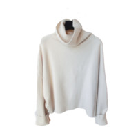 High Roll Down Neck Soft Sweater