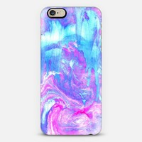 Melting Marble in Pink & Turquoise iPhone 6 case by Tangerine- Tane   Casetify