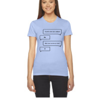 Want to Talk About Sodium VECTOR - Women's Tee