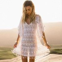 Tassel Summer Beach Cover-Ups