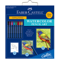 Faber-Castell® Getting Started Watercolor Pencil Art Set