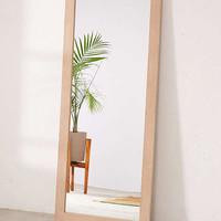 Simple Wood Mirror | Urban Outfitters