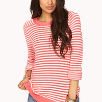 FOREVER 21 Everyday Striped Sweater