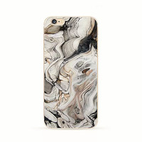 Marble iPhone 6 Case Gray Stone iPhone 6s Plus Soft Case Granite Pattern Silicone iPhone 6 Slim Design Case Natural Marble Stone 3737