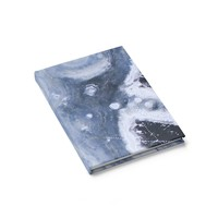Blue Marble Notebook