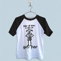 Raglan T-Shirt - Dobby Will Always be There for Harry Potter