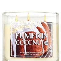 3-Wick Candle Pumpkin Coconut