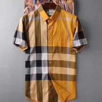 BURBERRY Import 100% wash water cotton, self-cultivation tailoring 009