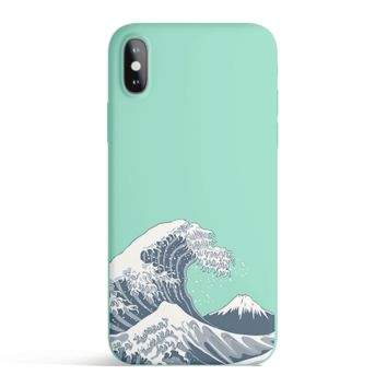 Japan Waves - Colored Candy Cases Matte TPU iPhone