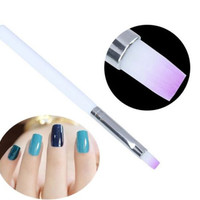 2pcs/lot Useful Comestic Gadget Acrylic UV Gel Nail Art Design Pen Polish Painting Brush Manicure Tool Kit