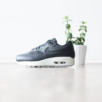 KUYOU Nike Women's Air Max 1 PRM (Anthracite/White/Clear)