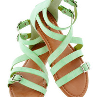 Seafoam the Sights Sandal | Mod Retro Vintage Sandals | ModCloth.com