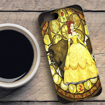Disney Beauty And The Beast Painting iPhone SE Case   casefantasy