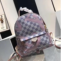 LV Women Fashion Shoulder Bag Backpack Daypack