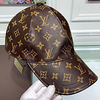 Lv Louis Vuitton New Fashion Monogram Print Couple Cap Hat Coffee