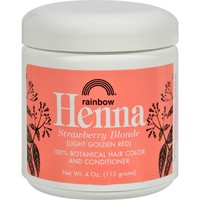 Rainbow Research Henna Hair Color and Conditioner Strawberry - 4 oz