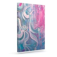 """Kess InHouse Mat Miller """"Electric Dreams"""" Outdoor Canvas Wall Art, 8 by 10-Inch"""