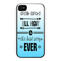 One Direction Lyrics Best Song iPhone 4/4S Case
