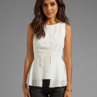 Elizabeth and James Laurence Top in Ivory