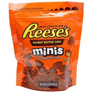 Reese's Peanut Butter Cup Minis Candy: 8-Ounce Bag