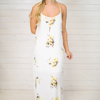 Spellbound Floral Maxi Dress