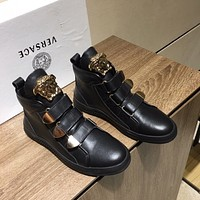 VERSACE   Fashion Women Men's Casual Running Sport Shoes Sneakers Slipper Sandals High Heels Shoes