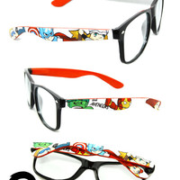 The Avengers Special Edition Custom Painted Glasses