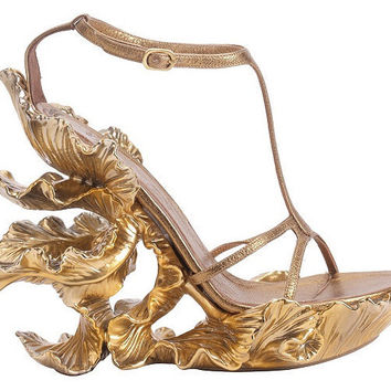 A Little Bit of Spring in Your Step ? Alexander McQueen Shoes   Lovely Room