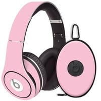 Baby Pink Decal Skin for Beats Studio Headphones & Carrying Case by Dr. Dre