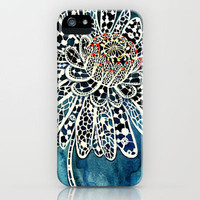 Flower Paintings: Lace Flower iPhone Case by Luella Spark | Society6