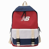 New Balance Fashion Casual Simple School Backpack Travel Bag