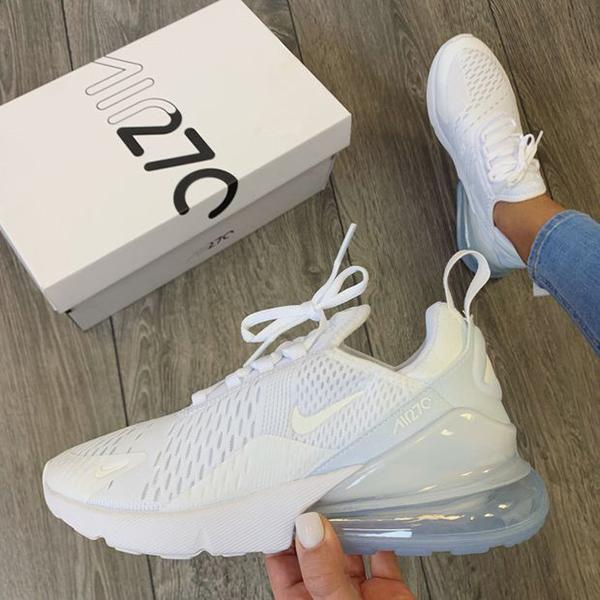 Image of Nike Air Max 270 White Sneaker Shoes