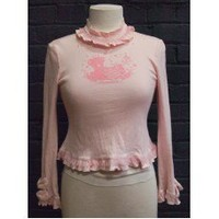 [USED] Metamorphose pink cutsew
